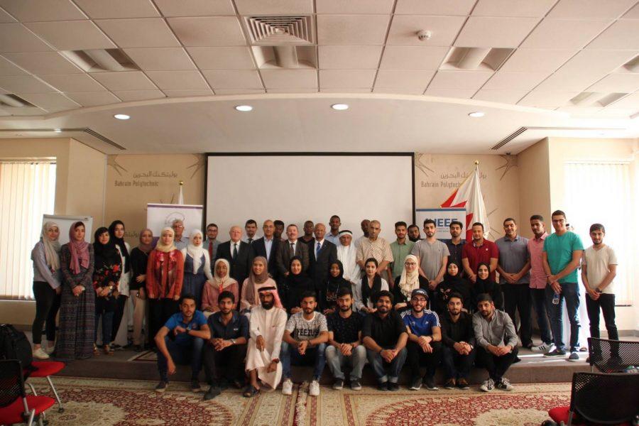 with UoB SB & IEEE IAS chair [Bahrain 2018]