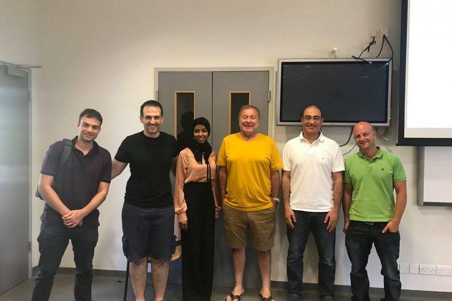 Visiting Prof. Cyprus [Summer 2018]